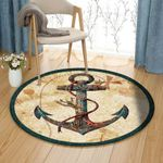 Anchor QN120801PT Round Carpet