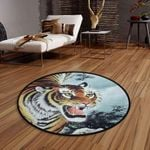 Angry Tiger CLG1110017C Round Carpet