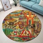 Ancient Egyptian CLP0710007M Round Carpet
