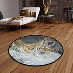 Angry Tigers CLG1110022C Round Carpet