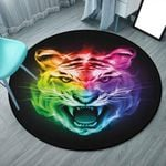 Angry Tiger CLG1110020C Round Carpet