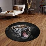 Angry Tiger CLG1110019C Round Carpet
