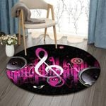 Audio Music HN270902RR Round Carpet #68026
