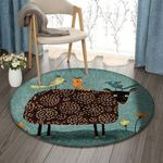 Animal NT1610007RR Round Carpet
