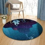 Astronaut And Scuba Diving DN1910184RR Round Carpet