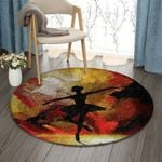 Ballet Art Dance VD1410002RR Round Carpet #92256