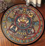 Ancient Primitive CLT0910010G Round Carpet