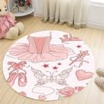 Ballet Angel CLT0910013G Round Carpet #44420
