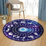Astrology CG280802TM Round Carpet