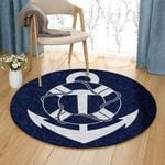 Anchor Pattern 2 GS-CL-DT2404 Round Carpet