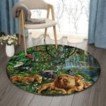 Animal NT0810005RR Round Carpet #16007