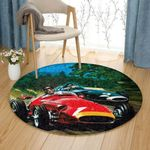 Auto Racing NN0710004TM Round Carpet