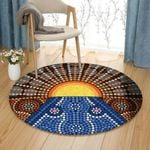 Australian Aboriginal HT121005TM Round Carpet