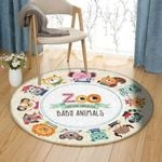 Baby Animals HM070901TM Round Carpet