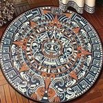 Ancient Primitive Era CLT0910007G Round Carpet #41072