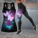 HD 3D ALL OVER PRINTED COMBO TANK TOP & LEGGINGS OUTFIT FOR WOMEN - HDV002L