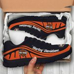 [Limited Edition] 3D All Over Printed HD084L Orange & Black Sneakers 03