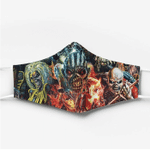[Limited Edition] Iron Maiden Custom Design HD Facemask 2020 Edition IRM023L