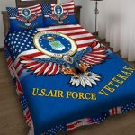 USA AIR FORCE VETERAN Bedding Set HD241L
