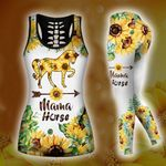 [Limited Edition] HD 3D ALL OVER PRINTED COMBO TANK TOP & LEGGINGS OUTFIT FOR WOMEN - HR194