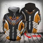 [Limited Edition] HD 3D ALL OVER PRINTED T-shirt Hoodie Zip Hoodie Sweatshirtd  - HD127L