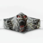 [Limited Edition] Iron Maiden Custom Design HD Facemask 2020 Edition IRM022L