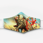 [Limited Edition] Iron Maiden Custom Design HD Facemask 2020 Edition IRM014L