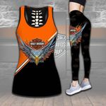 HD 3D ALL OVER PRINTED COMBO TANK TOP & LEGGINGS OUTFIT FOR WOMEN - HD390