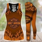 HD 3D ALL OVER PRINTED COMBO TANK TOP & LEGGINGS OUTFIT FOR WOMEN - HD388