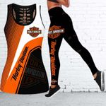 [Limited Edition] HD 3D ALL OVER PRINTED COMBO TANK TOP & LEGGINGS OUTFIT FOR WOMEN - HD387