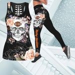 [Limited Edition] HD 3D ALL OVER PRINTED COMBO TANK TOP & LEGGINGS OUTFIT FOR WOMEN - HD378