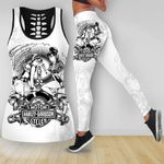 [Limited Edition] HD 3D ALL OVER PRINTED COMBO TANK TOP & LEGGINGS OUTFIT FOR WOMEN - HD132L