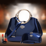 HLD Deluxe Women Handbag With Free Matching Wallet Limited Offer