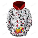 101 Dalmatians Christmas Hoodie 1