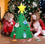 3D DIY Christmas Tree For Kids