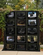 50 SHADES OF TOOTHLESS FABRIC QUILT