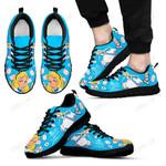 Alice Cyan Sneakers