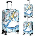 Alice in Wonderland Luggage Cover 2