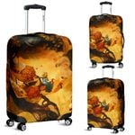 Alice in Wonderland Luggage Cover 3