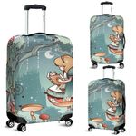 Alice in Wonderland Luggage Cover 8