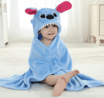 Baby Stitch Bath Towel