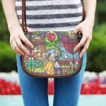 Beauty and the Beast Disney Saddle Bag 1
