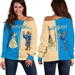 Beauty and the Beast Shoulder Sweater