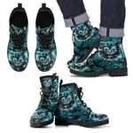 Cheshire Cat Leather Boots