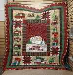 CHRISTMAS CAMPER FABRIC QUILT