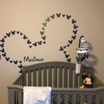 CUSTOMIZED MICKEY MOUSE WALL DECALS