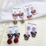 Cute Mickey Mouse Earrings