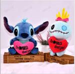 Cute Stitch and Scrump Plush