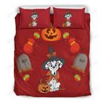 Dalmatian Halloween Bedding Set 2