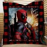 DEADPOOL FABRIC QUILT